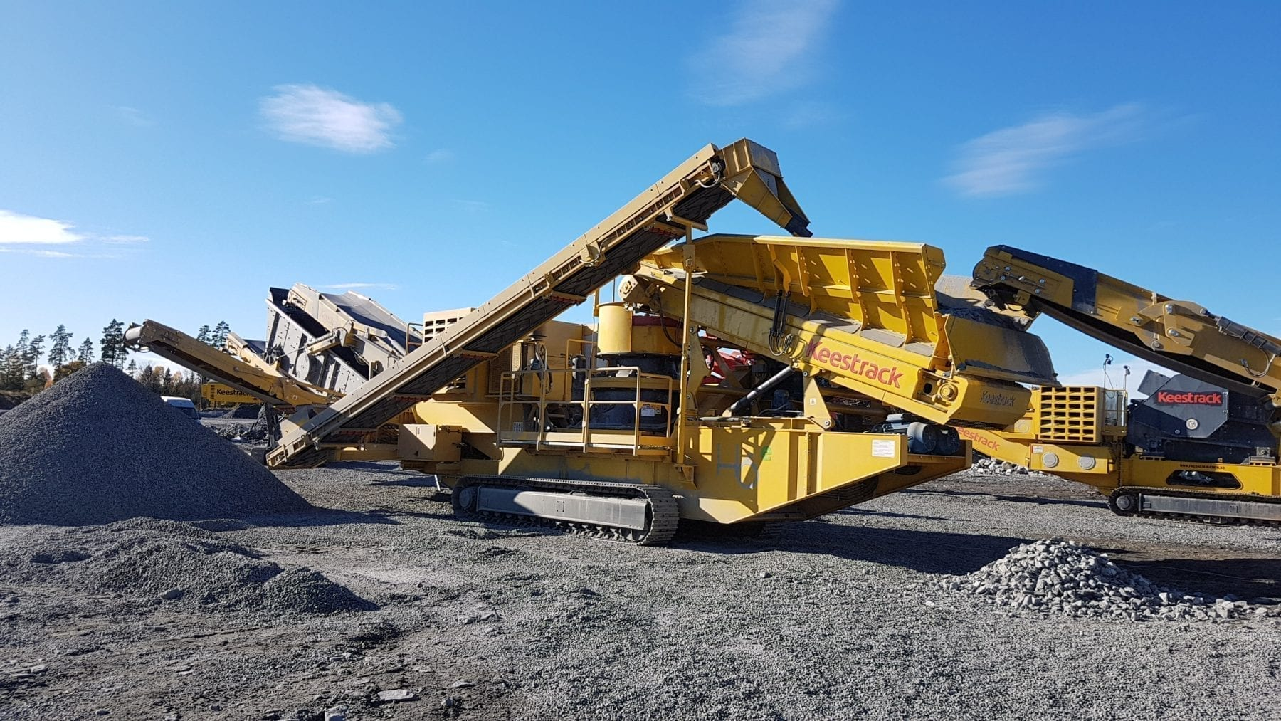Keestrack H6 Mobile Cone Crusher