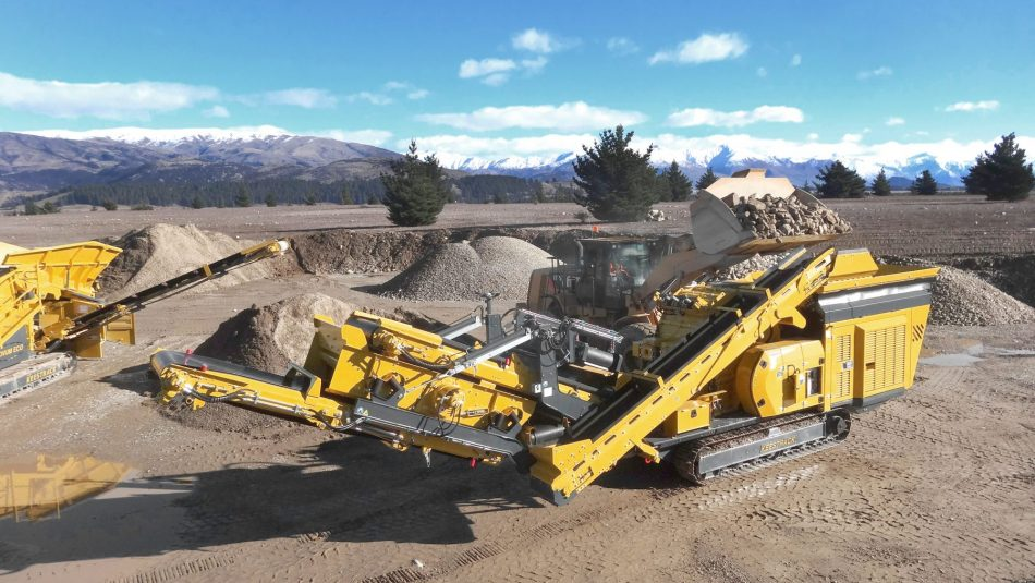 R3 mobile impact crusher