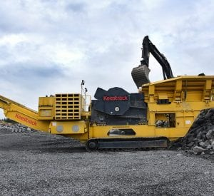 Keestrack B6 mobile jaw Crusher web banner