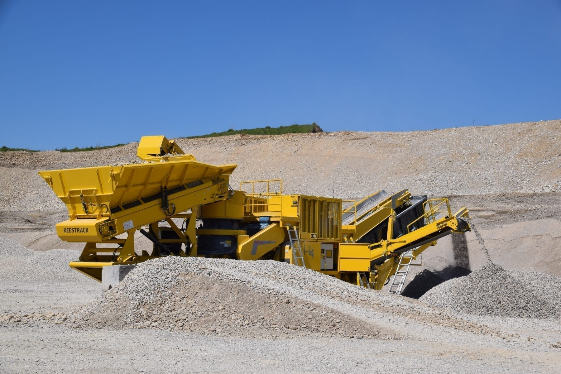 Keestrack H4 Mobile Cone Crusher