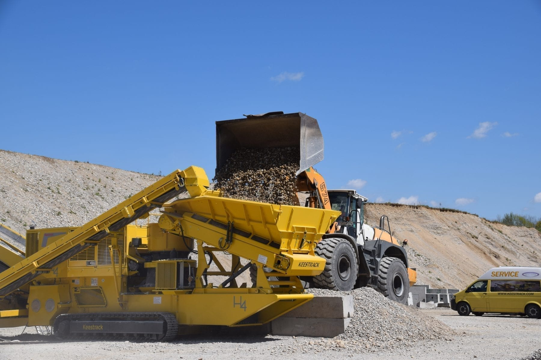 Keestrack H4 Tracked Cone Crusher