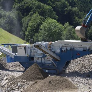 GIPOBAC B 1195 C/FDR Jaw Crusher