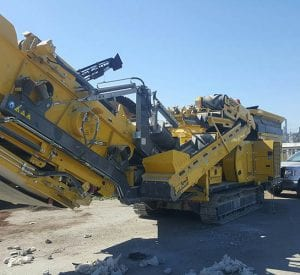 Used Keestrack 2016 R3 Impact Crusher for sale