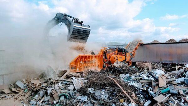 CBI 6400 grinder construction demolition waste