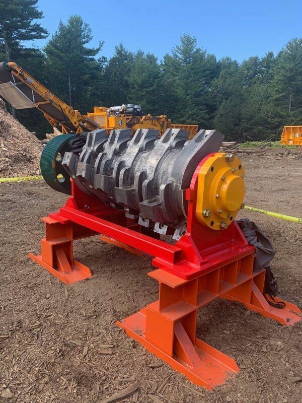 CBI 6400 solid steel rotor