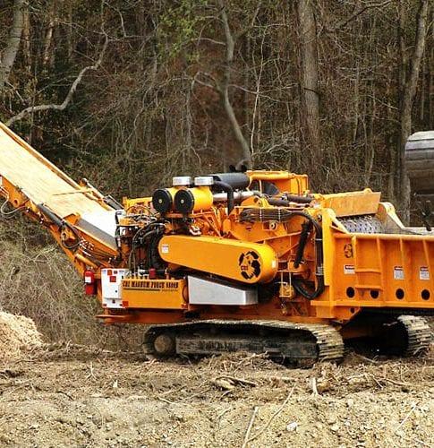 Continental Biomass Industries CBI 6800 Horizontal Grinder High Speed