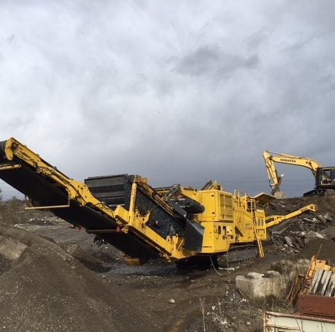 2017 Keestrack R5 impact crusher for sale