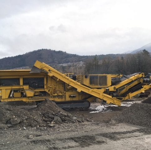 Used 2017 Keestrack R5 impact crusher for sale