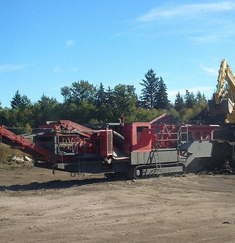 Used 2007 GIPO RC130C Impact Crusher for Sale