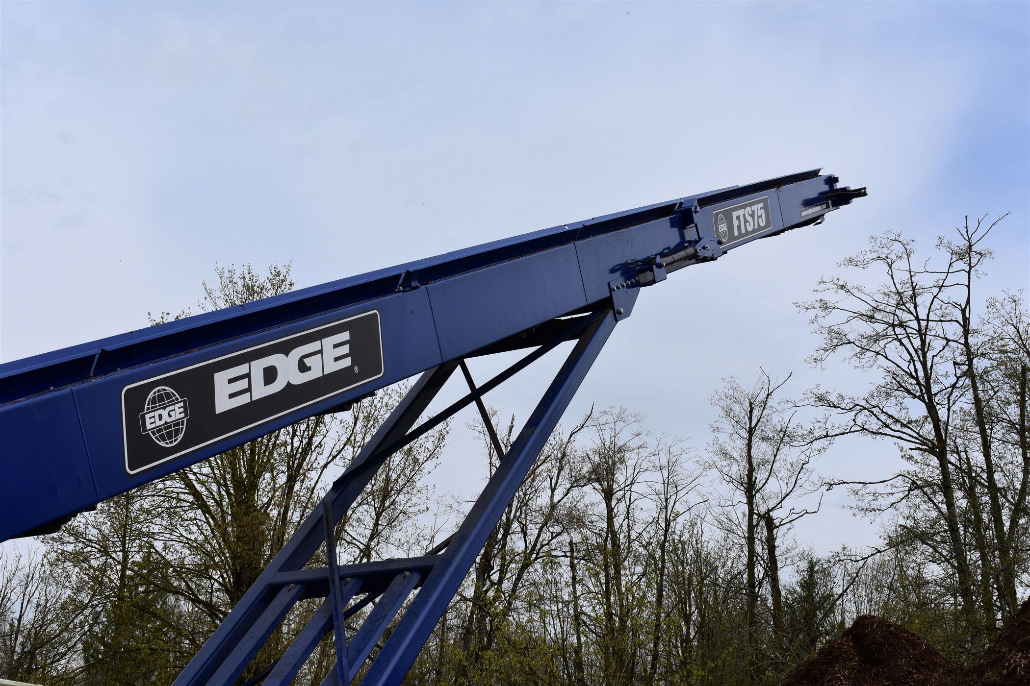 Edge Mulch Master Conveyor