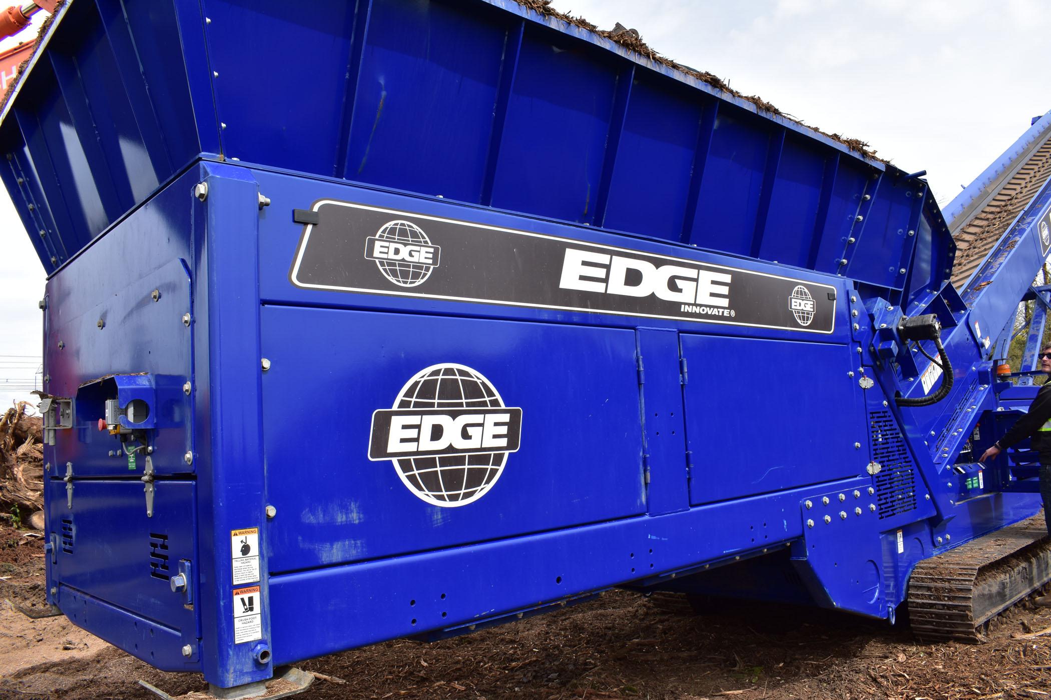 Edge Mulch Master Hopper