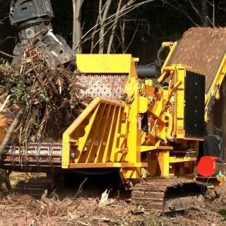 Horizontal wood grinders for sale & rent