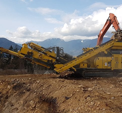 Used Keestrack R3 impact crusher for sale and for rent