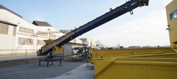 Keestrack S1e stacking conveyor