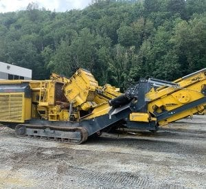 Used impact crusher for sale