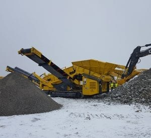 K4 Used double deck screener for sale