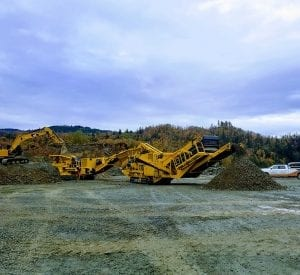 Used Keestrack H6 cone crusher for sale