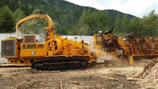 CBI 754 disc chipper for sale