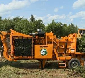 CBI 484 Whole Tree Chipper