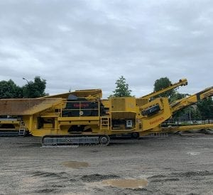 Used Keestrack jaw crusher for sle