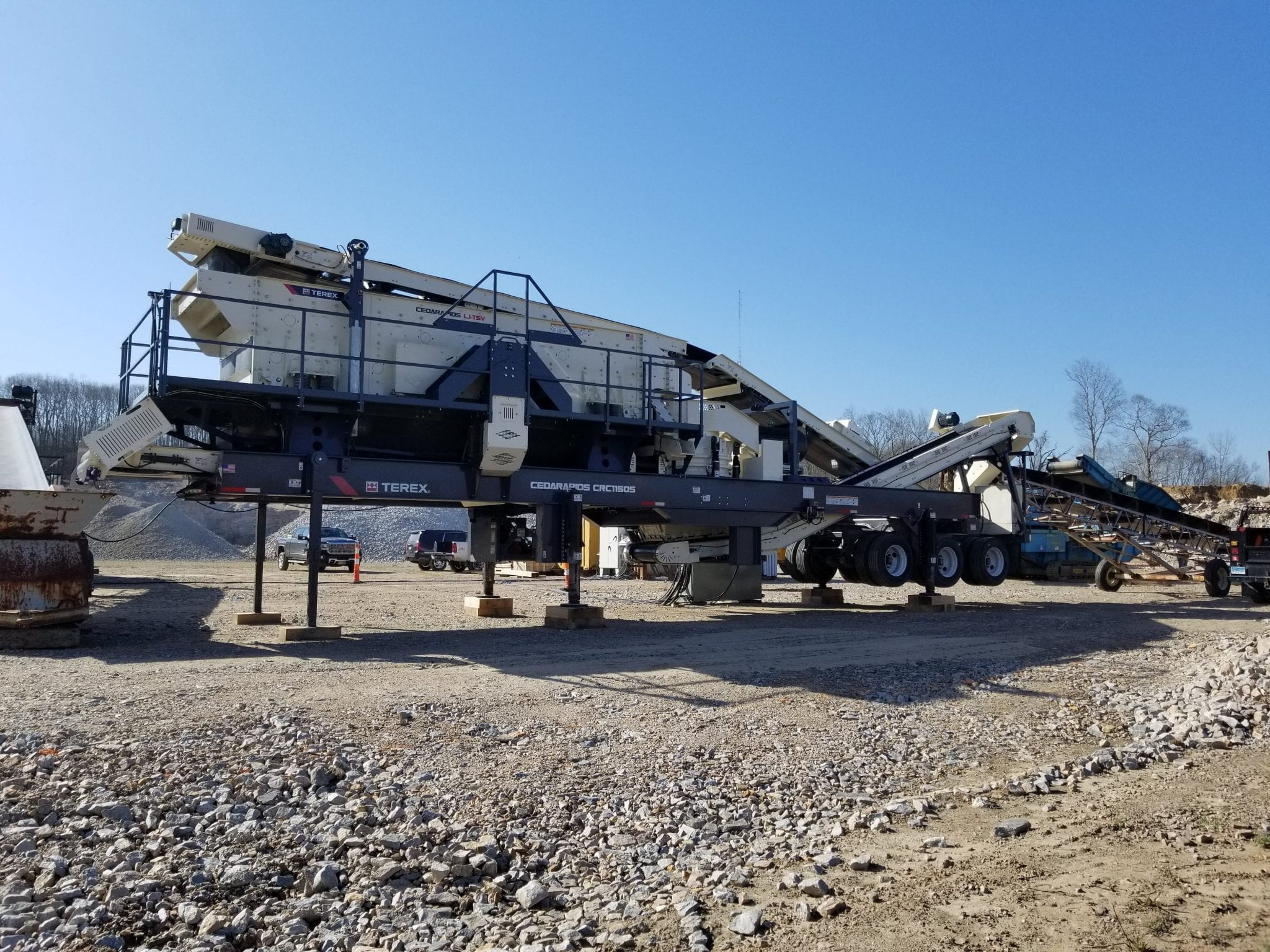 Cedarapids CRC1150S cone crusher