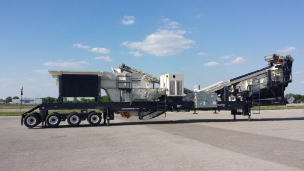 Cedarapids CRH1313R HSI portable crushing plant