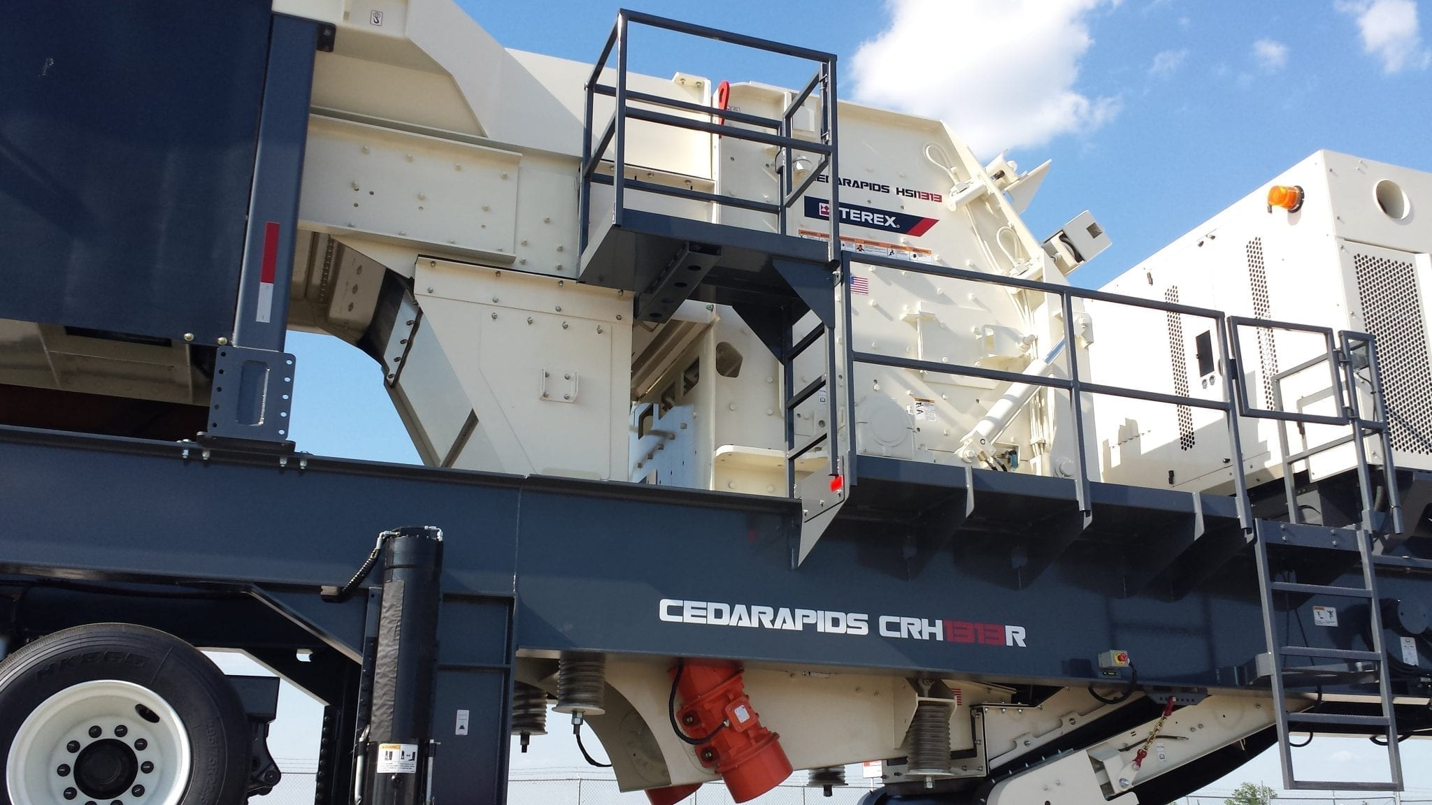 Cedarapids CRH1313R HSI impact crusher