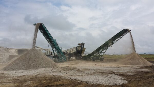 Cedarapids CRH1313R HSI crushing plant