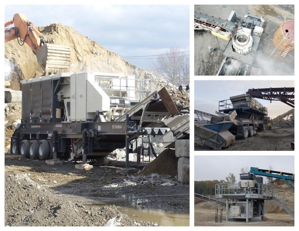 Frontline Machinery Cedarapids Crushign & Screening Dealer