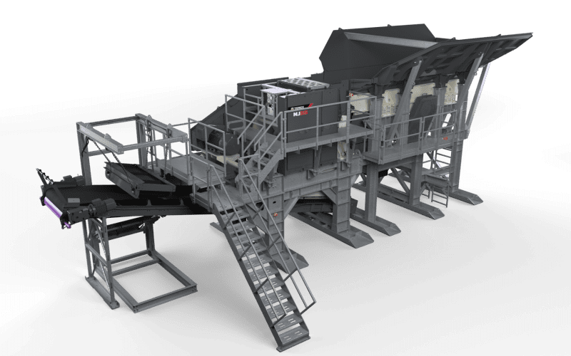 Cedarapids MJ55 modular jaw crusher
