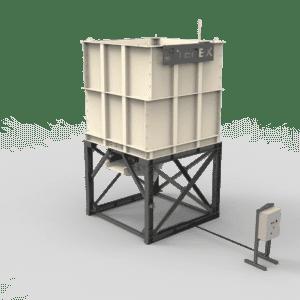 Cedarapids MSF24 modular surge bin