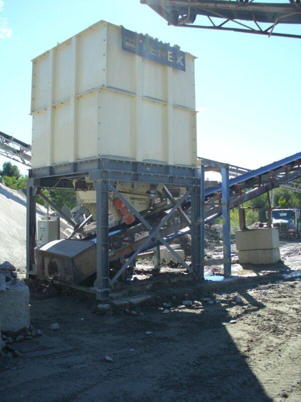 Cedarapids modular surge bin