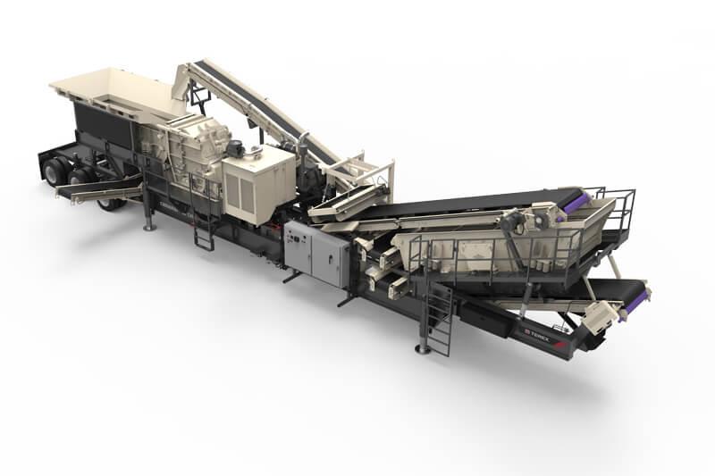 Cedarapids CRH1111R HSI crusher and screen plant