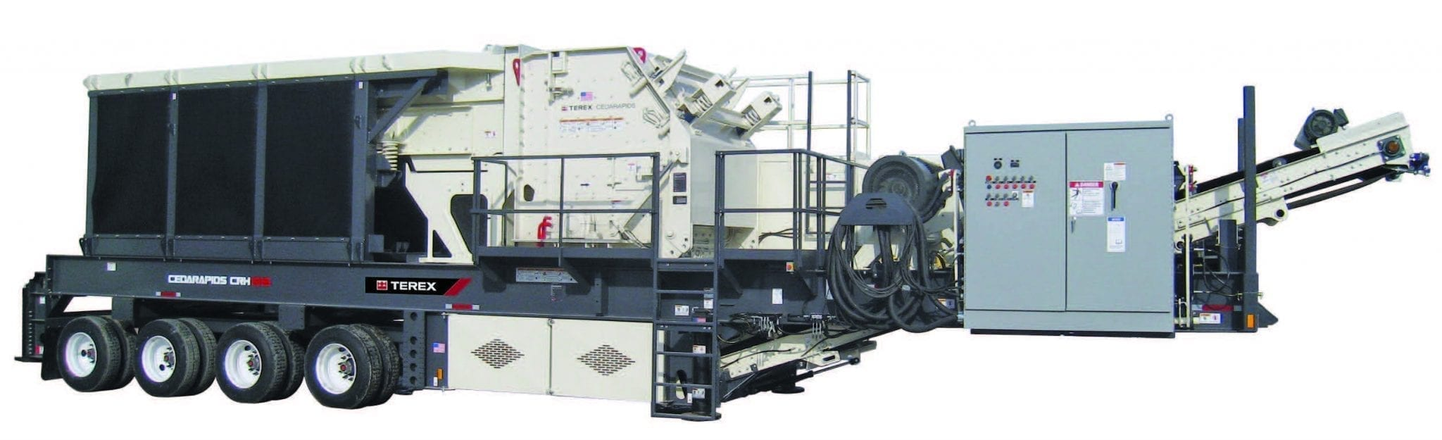 Cedarapids 1316 horizontal shaft impact crusher