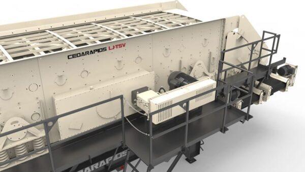 Cedarapids CRS820h portable screening plant