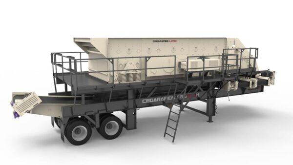 Cedarapids CRS820h portable screen plant