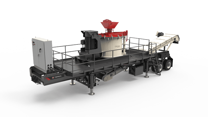 Cedarapids CRV2000 VSI crushing plant
