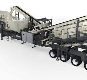 Cedarapids CRH1113r impact crushing plant (HSI)