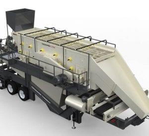 Cedarapids TXW620HT portable wash plant