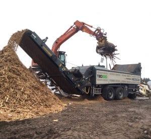 Ecotec TBG 620 high speed shredder