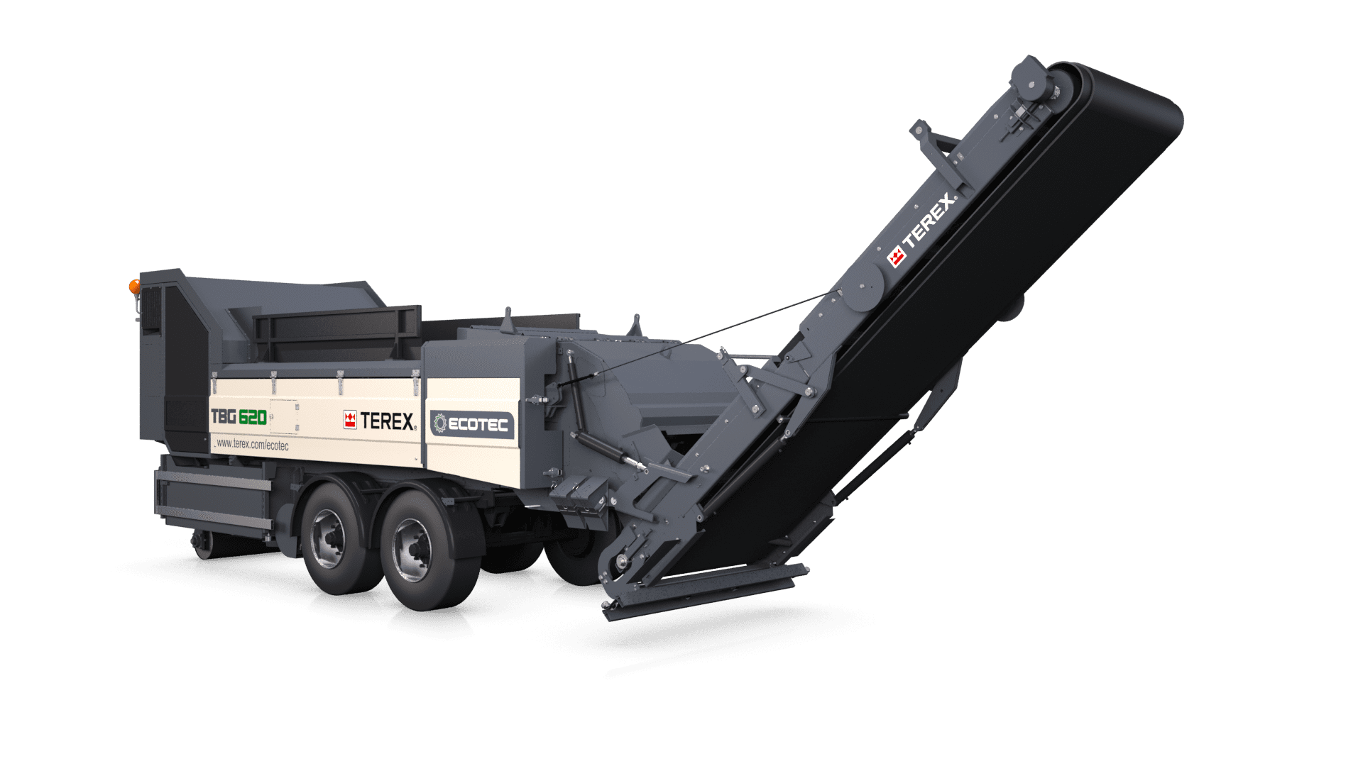 Ecotec TBG 620 high speed shredder
