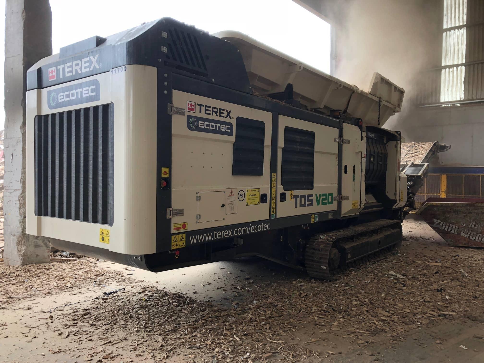 Ecotec TDS V20 Medium Speed Shreeder dealer