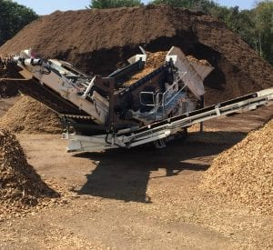 Ecotec TRS 550 Recycling Screener