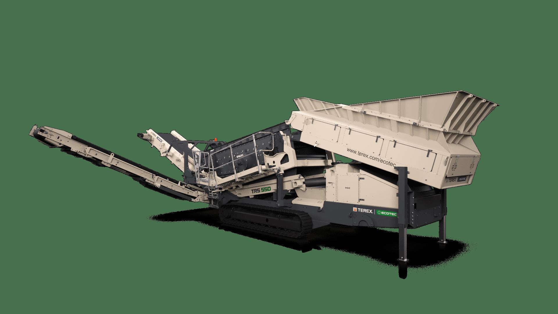 Ecotec TRS 550 Recycling Screener