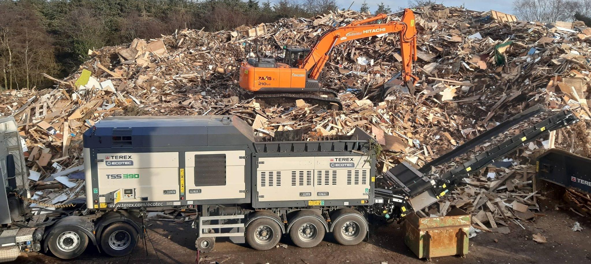 Ecotec TSS 390 Slow speed shredder