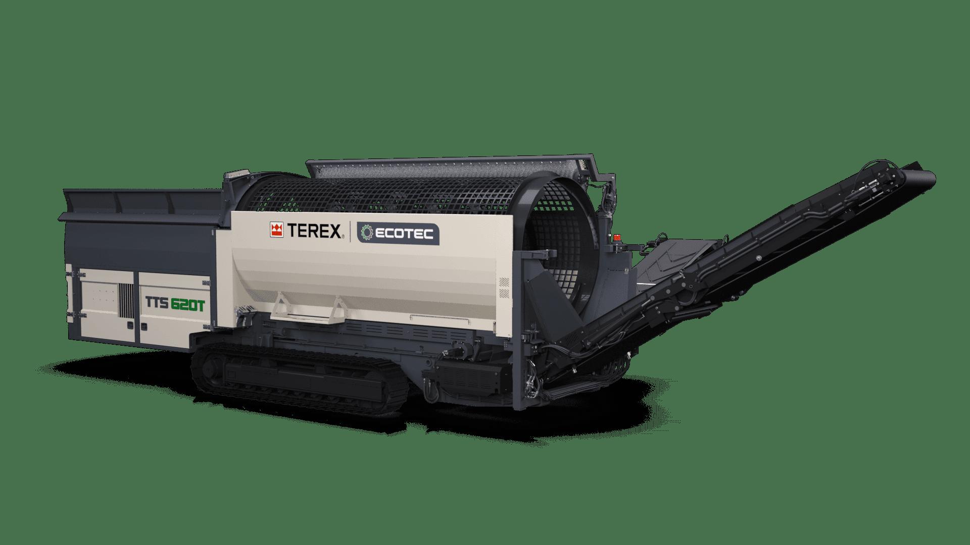 Ecotec TTS 620T Tracked Trommel Screener
