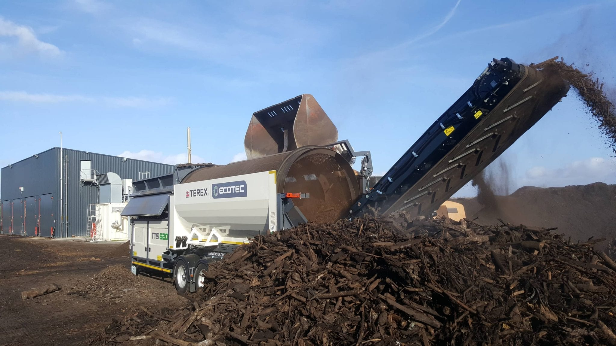 Ecotec TTS 620 Trommel Screener
