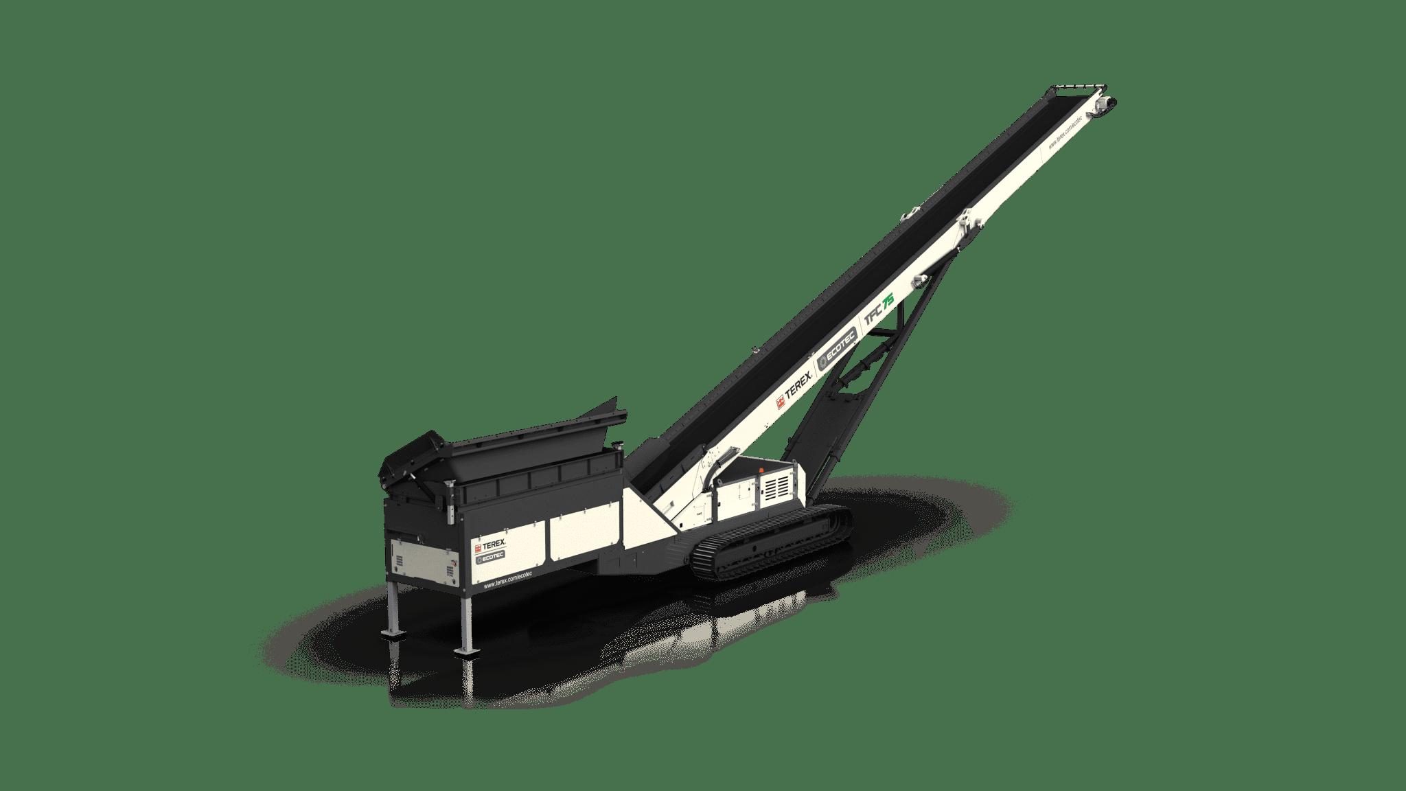 Terex Ecotec TFC 75 high level feeder stacker
