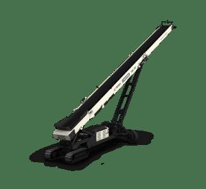 Terex Ecotec TRC 75 radial tracked stacker