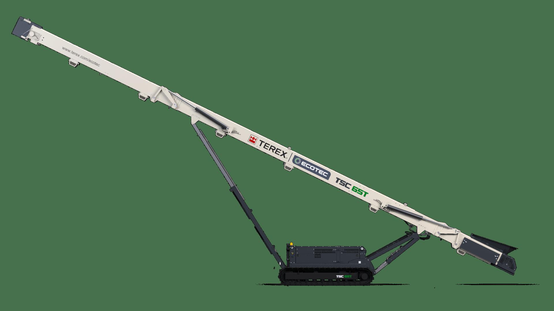 Ecotec TSC 65 ft tracked stacker